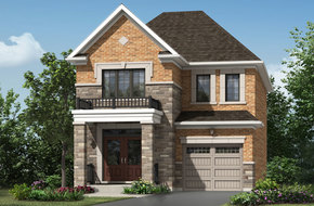Elgin model home in