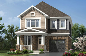 Sherwood model home in