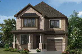 Willowdale model home in