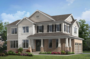 Ritson Corner model home in