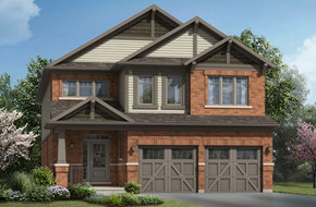 Brockridge model home in