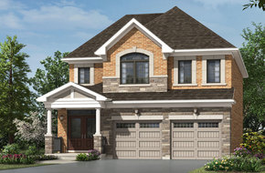 Fallingbrook model home in