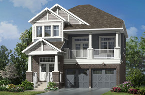 Greenfield model home in