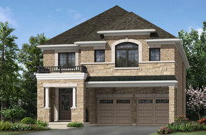 Valley View model home in