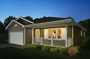 Stormview model home in