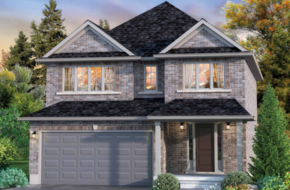 The Copetown model home in