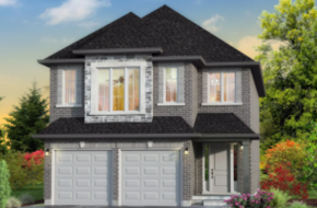 The Mapleview model home in