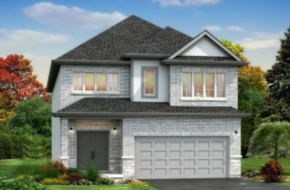 The Waterville model home in