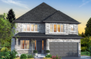 The Muirfield model home in