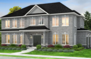 The Royal County-Corner Lot model home in