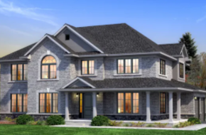 The New Forest-Corner Lot model home in