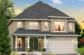 The St. Andrew model home in