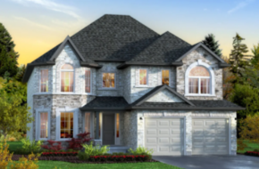The Mount Juliet model home in