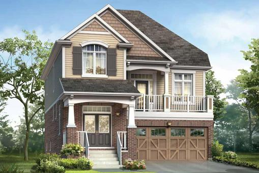 New Home Model The Wintergreen By Builder Mattamy Homes