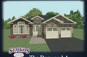 The Dogwood A & B model home in