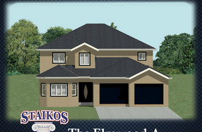 The Elmwood A & B model home in