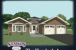 The Hemlock A & B model home in