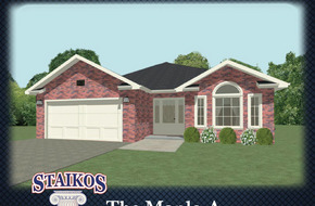 The Maple A & B  model home in